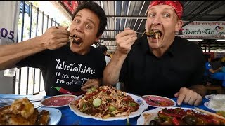 Mark Wiens in Thailand! | Collab with Best Ever Food Review Show Sonny Side |