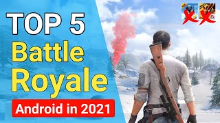 TOP 5 battle royale games for Android 2021 | Battle royal New games | High Graphics Game for Android