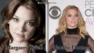 Game of Thrones: Antes e depois dos personagens // Before and After