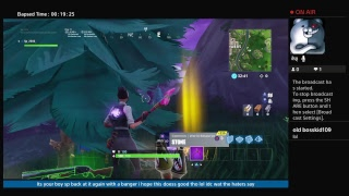 Fortnite live stream epic i think