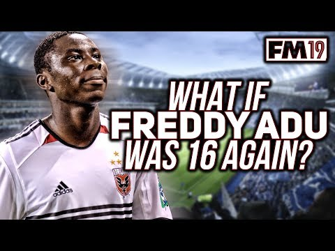 What If Freddy Adu Was 16 Again? - Football Manager 2019