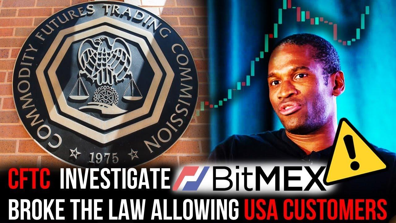 USA Government (CFTC) Investigate Bitcoin Futures platform Bitmex! Market  Maker Quits! KYC soon?!