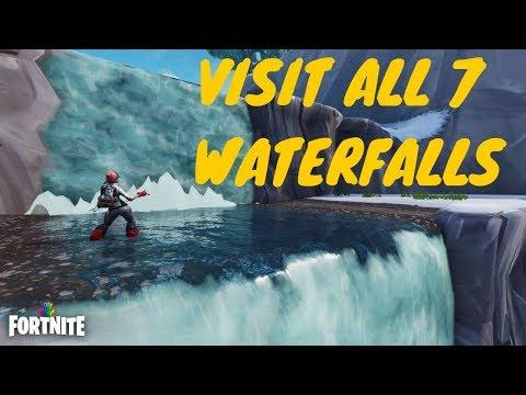 - visit waterfalls fortnite