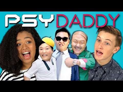 TEENS REACT TO PSY - DADDY