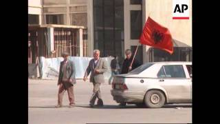 Albania - Rebels continue to hold south