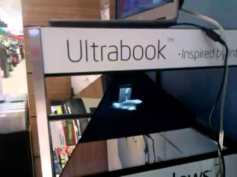 [SMART MARKETING] Hologram Box Asus Ultrabook launch