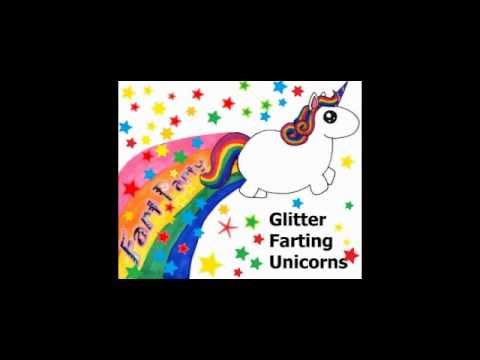 Unicorn fart glitter