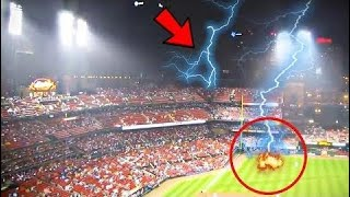 PEOPLE ALMOST GETTING HIT BY LIGHTNING - Hot Trend  - Ep 142