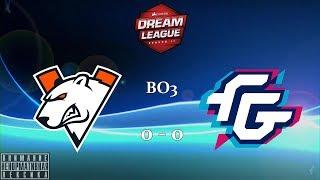 [RU] Virtus.pro vs. Forward Gaming - DreamLeague Season 11 BO3 @4liver MAP 1&2