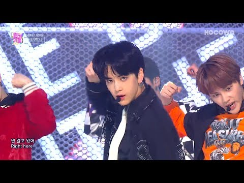 The Boyz - RIGHT HERE [Inkigayo Ep 973]