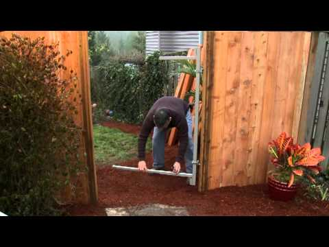 Adjust A Gate Gate Frame Installation And Introduction