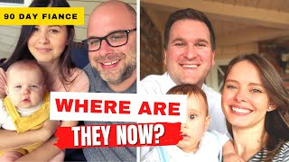 90 Day Fiance Season 1 Cast: Marriages, Divorces, and Babies! Where Are They Now?