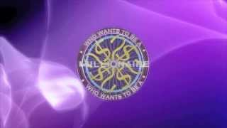 Who Wants To Be A Millionaire intro 2013