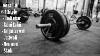 Punjabi GYM workout songs