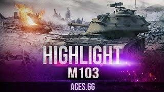 Морской пехотинец в World of Tanks. М103 на карте Монастырь!