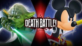 Yoda VS King Mickey (Star Wars VS Kingdom Hearts) | DEATH BATTLE!