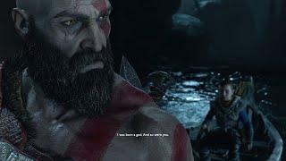God of War 4 - Kratos Reveals To Atreus He's a God From Sparta (God of War 2018) PS4 Pro