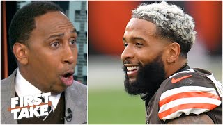 'Free OBJ!' - Stephen A. says Odell Beckham Jr. needs to demand a trade from the Browns | First Take