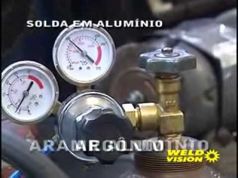 Máquina De Solda MIG Com Tocha 115A Weld Vision 220v Monof. - Vídeo explicativo