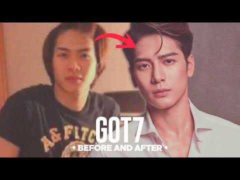 GOT7 - Predebut VS Now : Before and After