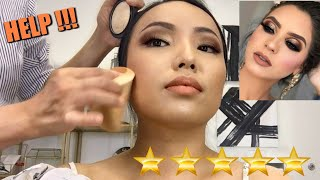 I WENT TO THE BEST REVIEWED MAKEUP ARTIST IN MY CITY!!!