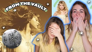 the vault is a sad place ~ Taylor Swift Fearless Vault Songs REACTION