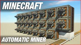 Automatic Miner   Minecraft Create Mod Tutorial