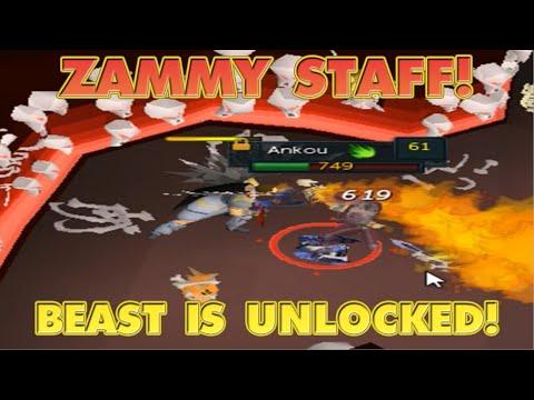 RuneScape Ironman - Unlocking The Beast Staff Already!