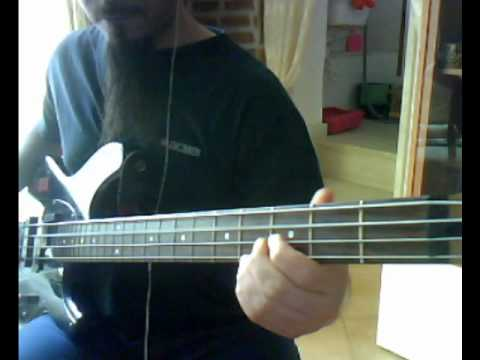 AC/DC - Hell's Bells (bass cover)