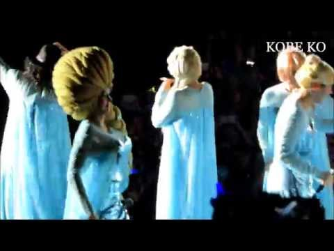 Super Junior 슈퍼주니어 Elsa Cosplay Rokkugo SS6 In HK 081114