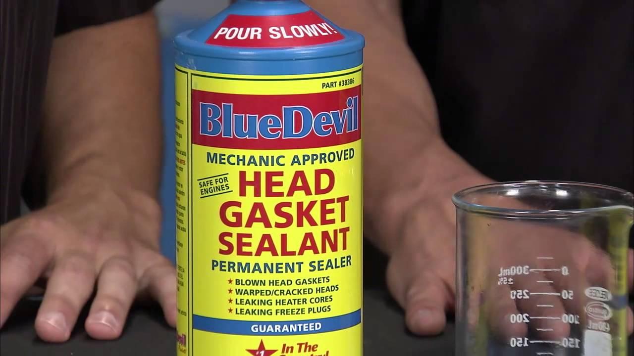 Cracked Head Gasket >> Two Guys Garage: BlueDevil Products Head Gasket Sealer ...