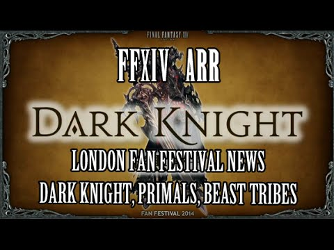 FFXIV Heavensward: Dark Knight Tank Details, Flying Mounts, New Primals (London Fan Fest)