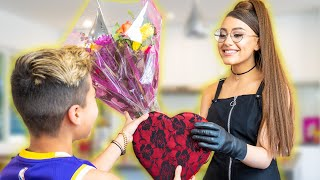 ARIANA GRANDE Surprises Ferran For VALENTINE'S DAY! **LOVE STORY** | The Royalty Family