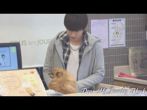 140127 TLJ choco time with Eunhyuk