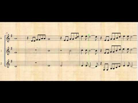 Los sonidos del silencio - partitura didáctica