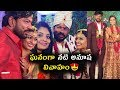 Telugu serial actress Anusha Wedding moments