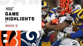 Bengals vs. Rams Week 8 Highlights | NFL 2019