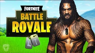 AQUAMAN VOICE TROLLING IN FORTNITE! (Aquaman Troll)