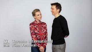 Carey Mulligan and Paul Dano discuss 'Wildfire'   TIFF 2018