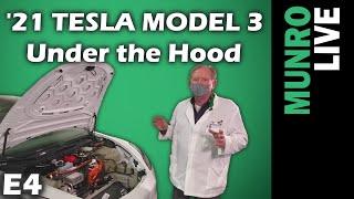 2021 Tesla Model 3: E4 - Under the Hood