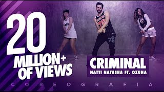 Criminal - Natti Natasha ft. Ozuna | FitDance Life (Coreografía) Dance Video