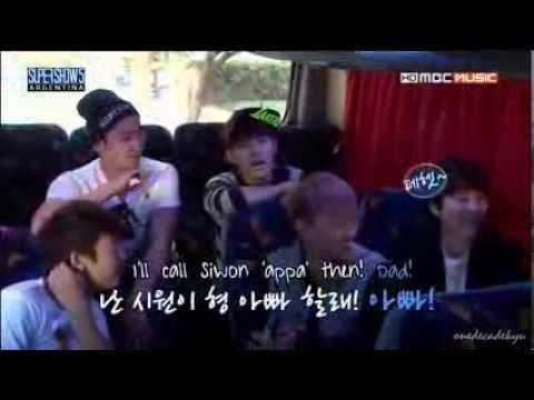 ENGSUB 130627 Eunhyuk's disagreement when Ryeowook calls Siwon 'dad'