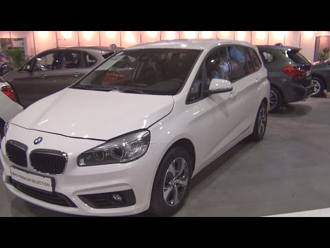 BMW 218d Gran Tourer Advantage 6+1 (2016) Exterior and Interior in 3D