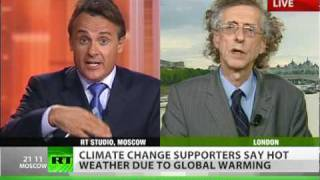 'Never mind the heat, climate change is hoax by gravy-train scientists'