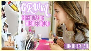 Get Ready With Me: First Day of High School! Junior Year