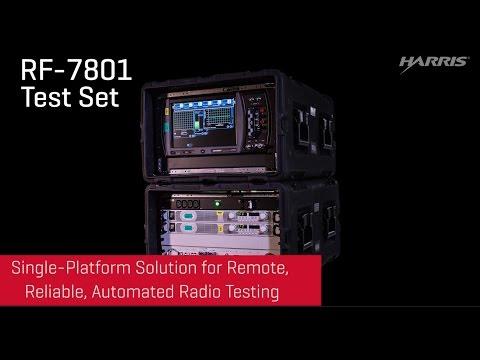 HARRIS® RF-7801 TEST SET
