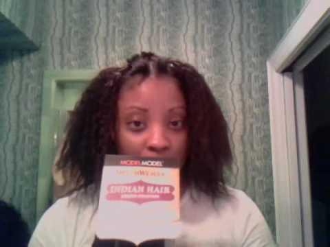 Full Sew In Weave- Chocolate Wet-n-Wavy 100% Human Hair Musica Movil ...