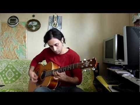 Blue Bossa - Gypsy Jazz Style Guitar