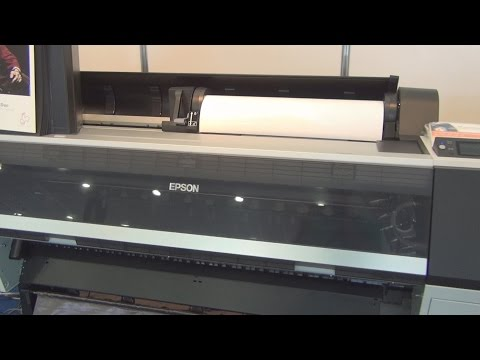 Epson SureColor P9000 printer review in 3D