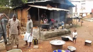 Cooking In Port Loko Sierra Leone 2013